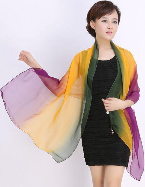 Supply silk scarves