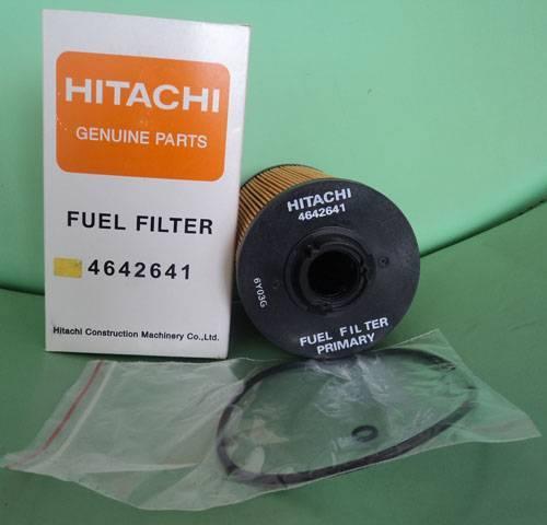 Replaced Hitachi Excavator Fuel Filter 4642641
