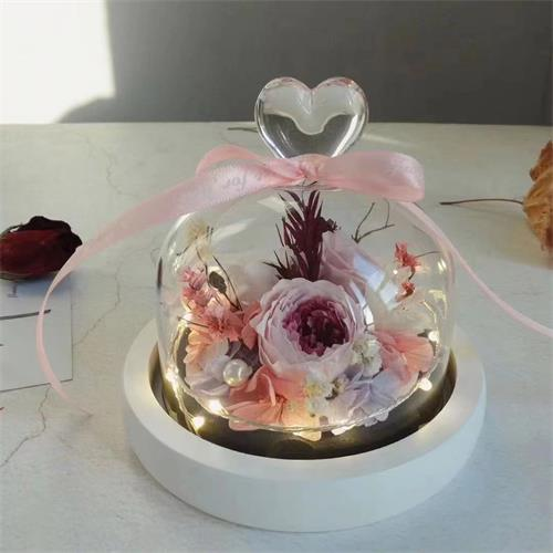 3D longlife dried art flowers designed by specialist