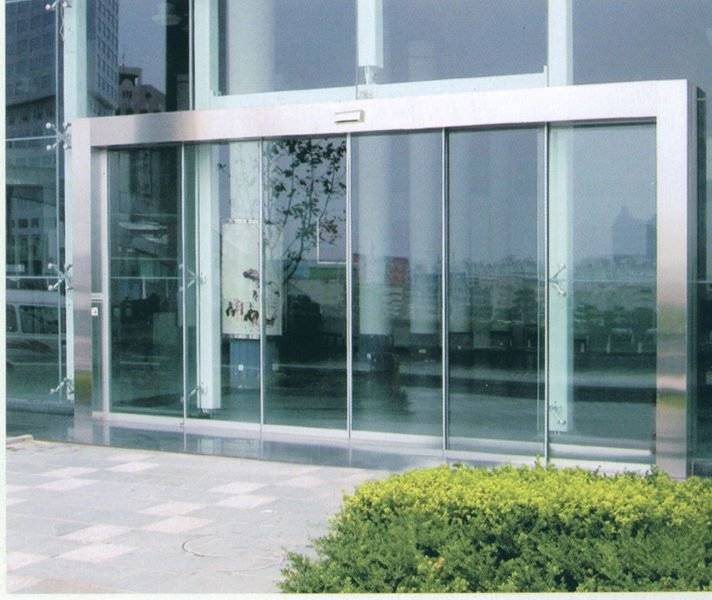 DEPER glass sliding door