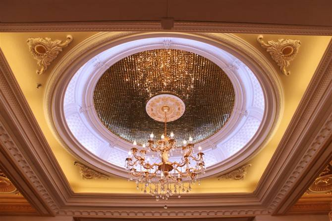 Artistic PU Ceiling for living room