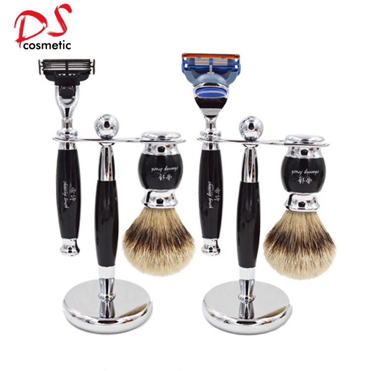 Dishi silvertip badger hair shaving brush set for man,Men Shaving Sets,Shaving Kits