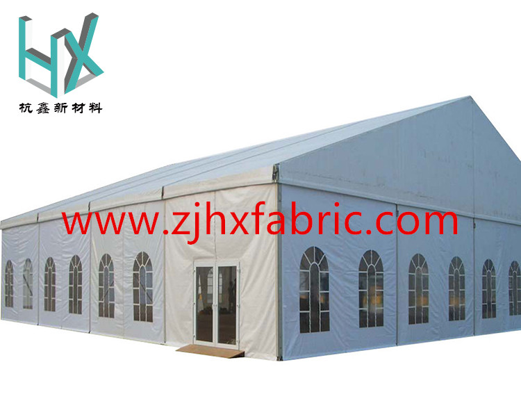 850gsm blockout PVC tarpaulin tent outdoor fabric with excellent physical