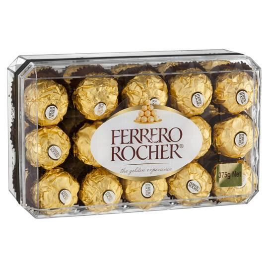 Ferrero Rocher chocolate....