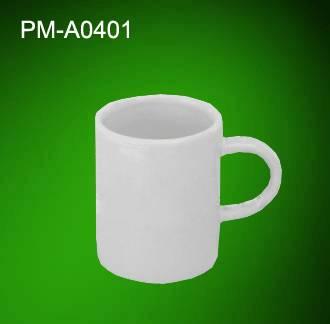 PM-A0401 white coated mug