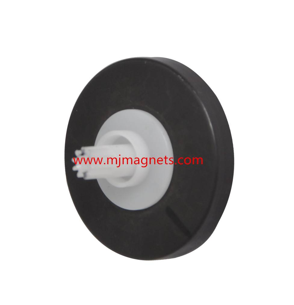 injection ferrite magnet by insert molding