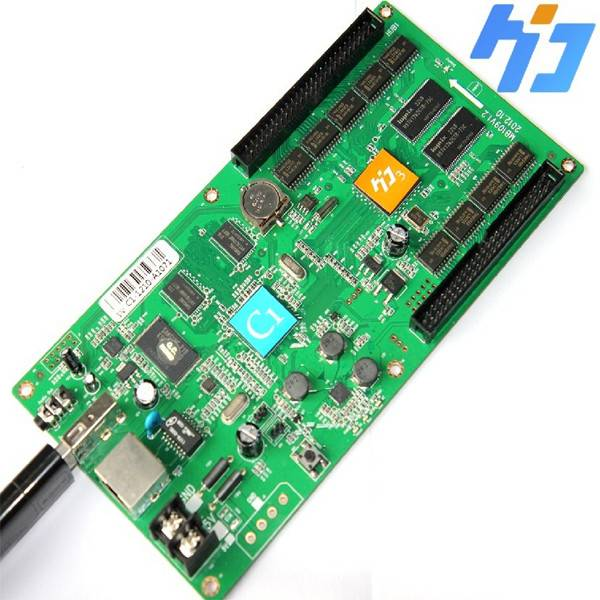 full color led display controllerC1 128384,vedio and audio output,ip cluster managerment,