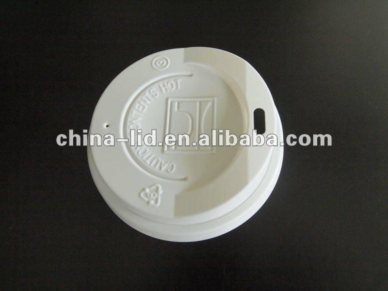 Coffee cup plastic lid