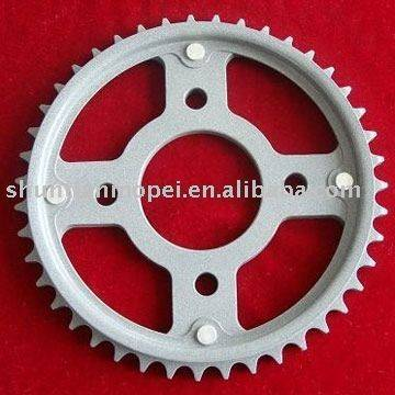 108-21 motorcycle sprocket and chain