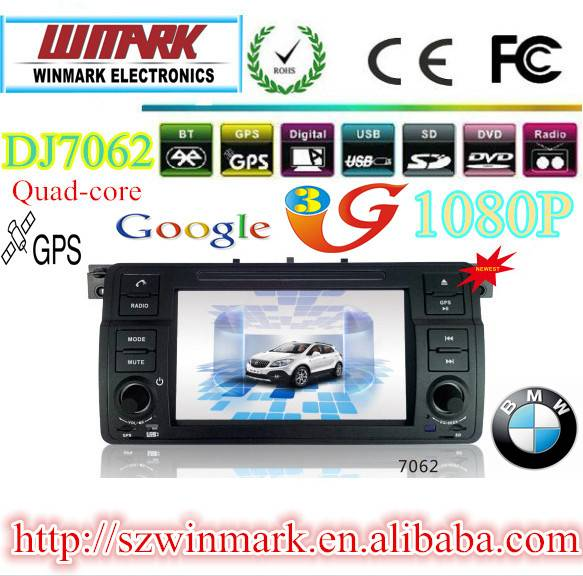 car dvd player gps ipod rds radio 3G phonebook for BMW E46 DJ7062
