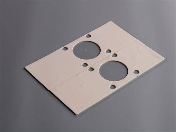 Low density thermal gap filler pad for EV