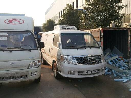 FOTON refrigerated minibus/vaccine delivery minivan/ freezer car