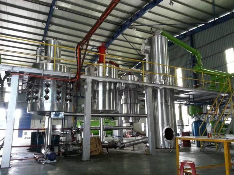 Multi-function diesel oil Distillation DOD series engine oil purifier/lube oil purifier