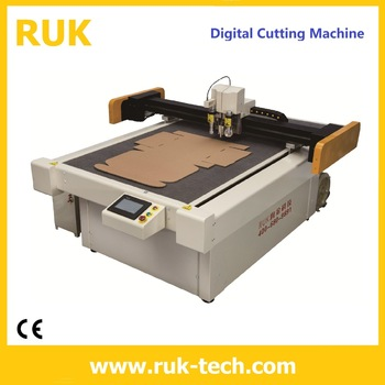 Small type knifes cutting machine for boxes sample cutting and creasing