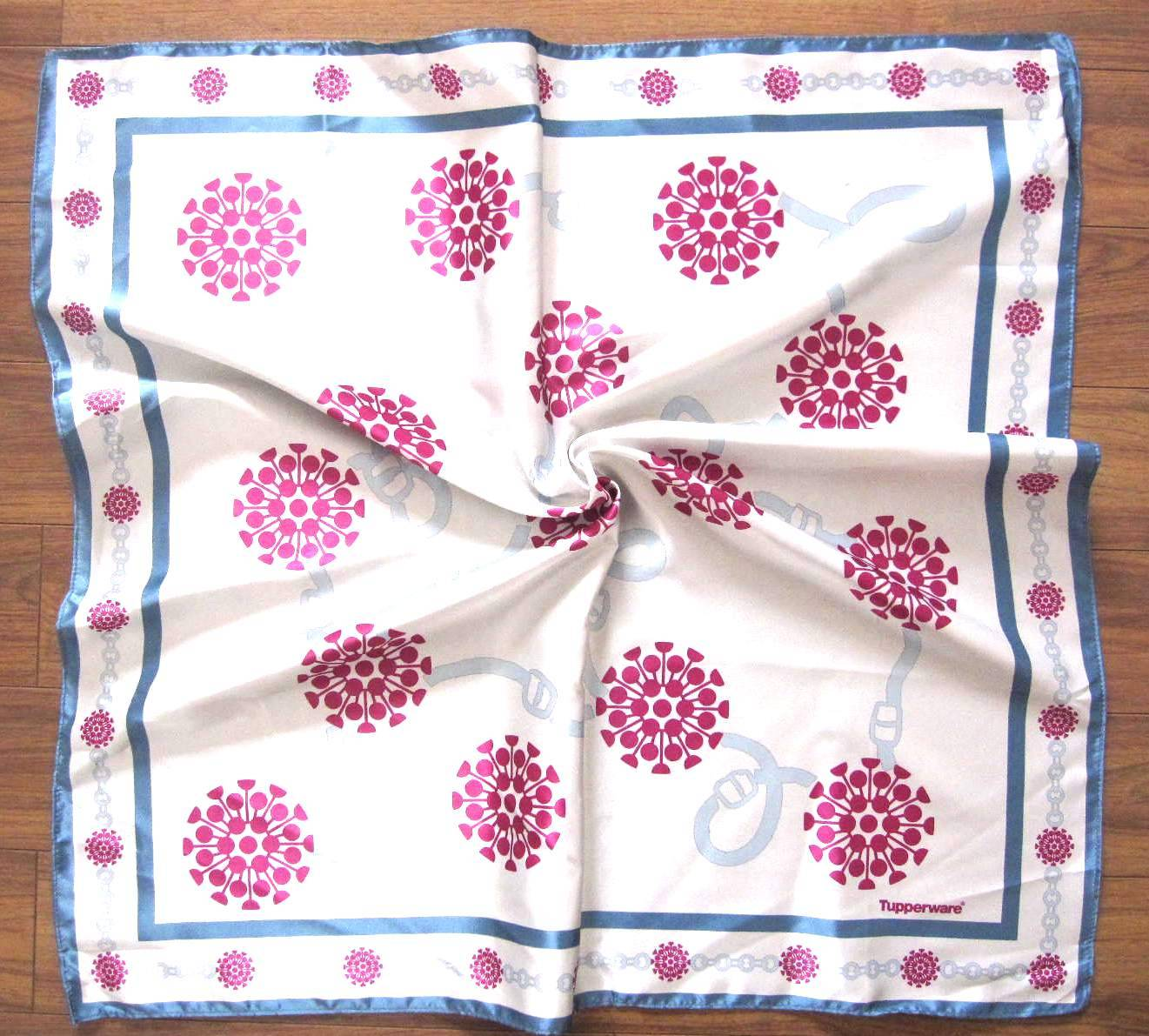 Promotional printing square satin bandana
