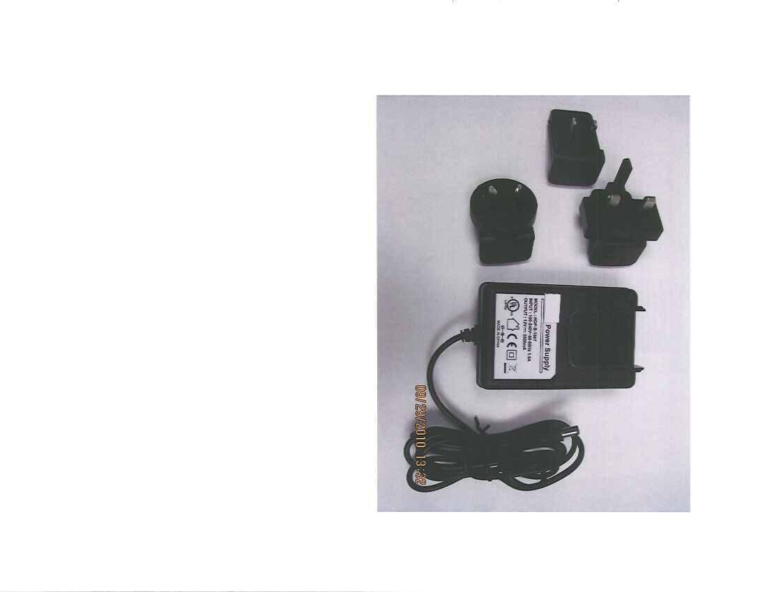 UL Class 2 (Category EPBU and EPBU7) 40W wall mount power adapter