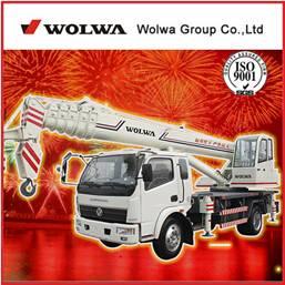 10 ton truck mounted crane