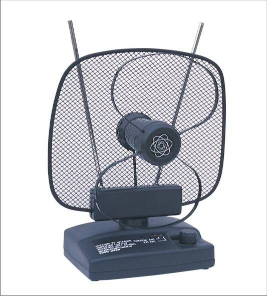 Amplified Indoor TV Antenna and Fm Radio Antenna 003 (Model No.: 003)