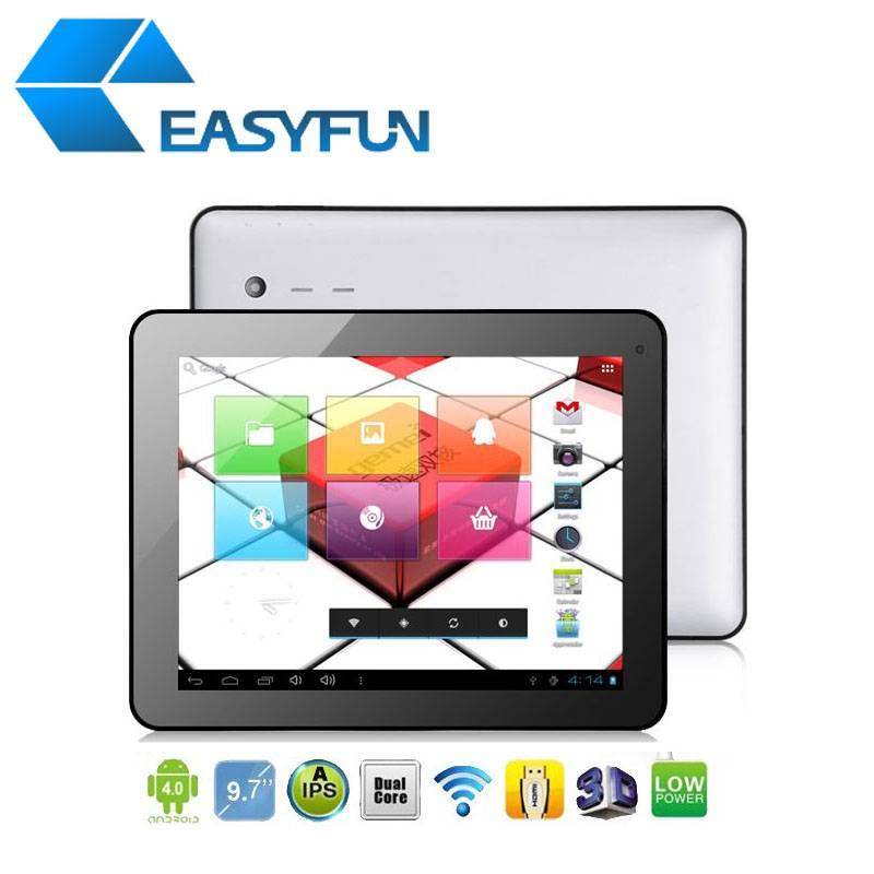 Cheap 9.7 inch Tablet PC/MID Allwinner A31S Android 4.2 1G/8G 5-point touch Dual camera