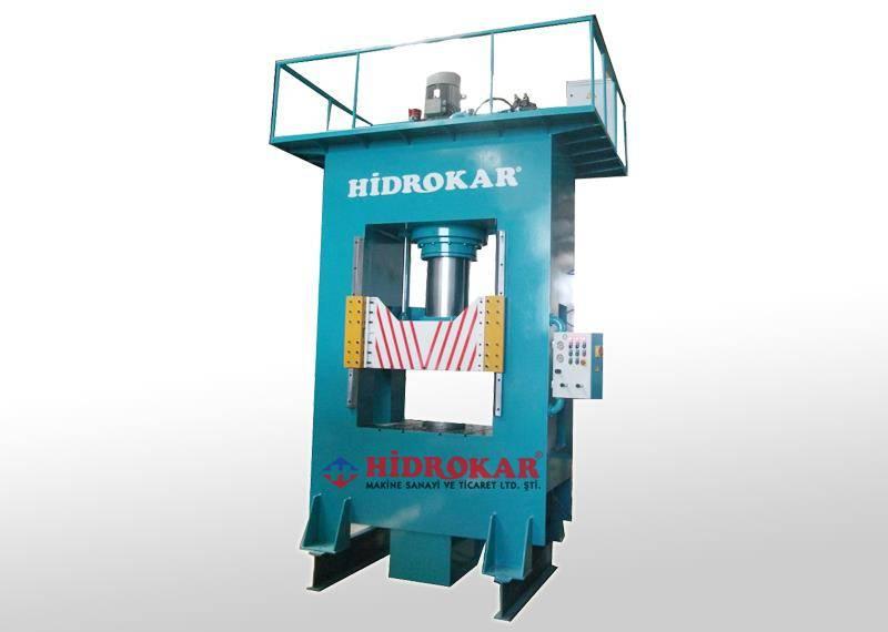 hydraulic deep drawing press h frame 50-2000 tons