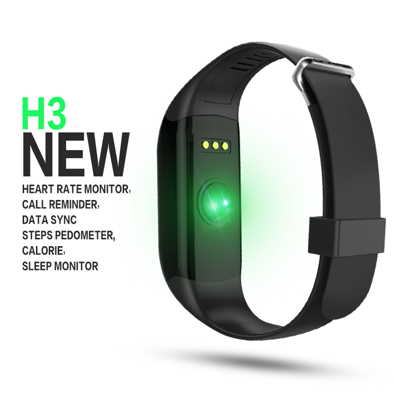 Smart Bracelet With Pedometer Heart Rate Call Reminder Functions