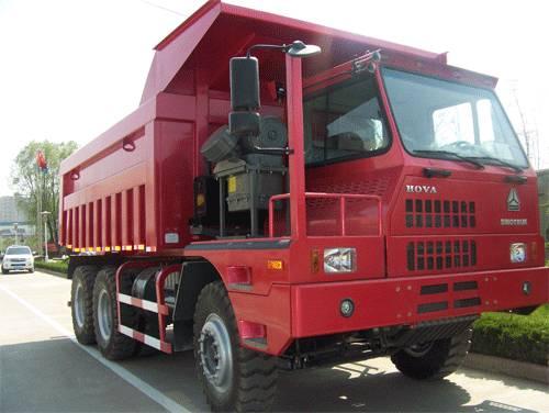 SINOTRUK HOVA Mining Dump Truck / Mining Tipper(6x4 60ton Transmission Auto)