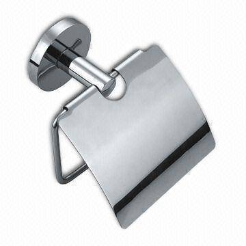 Stainless Steel Toilet Paper Holder with Precision Casting Base