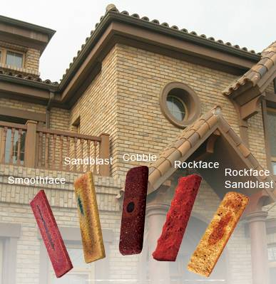 Export clay bricks, brick veneer, brick paver and clay block