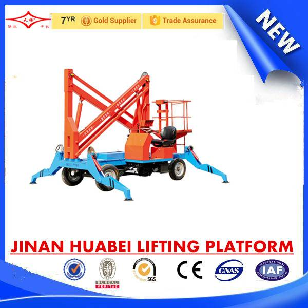 China hot sale walking and collapsible aerial work platform