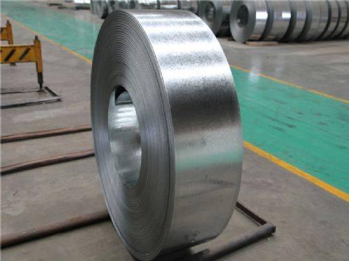 300mm width hot dipped galvanized steel strip/GI strip