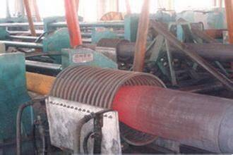 two-step pipe expanding machine