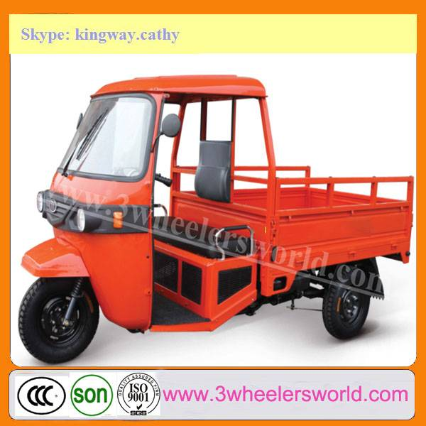 China Trike Chopper Three Wheel Cargo Motorcycles from Tricycle Manufacture