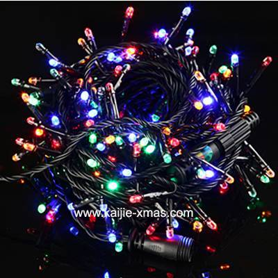 LED String light with end connector