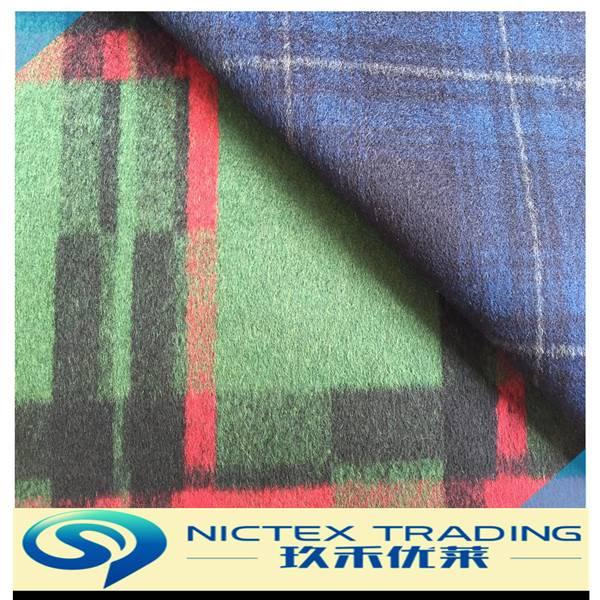 wool blend fabric,tartan wool fabric