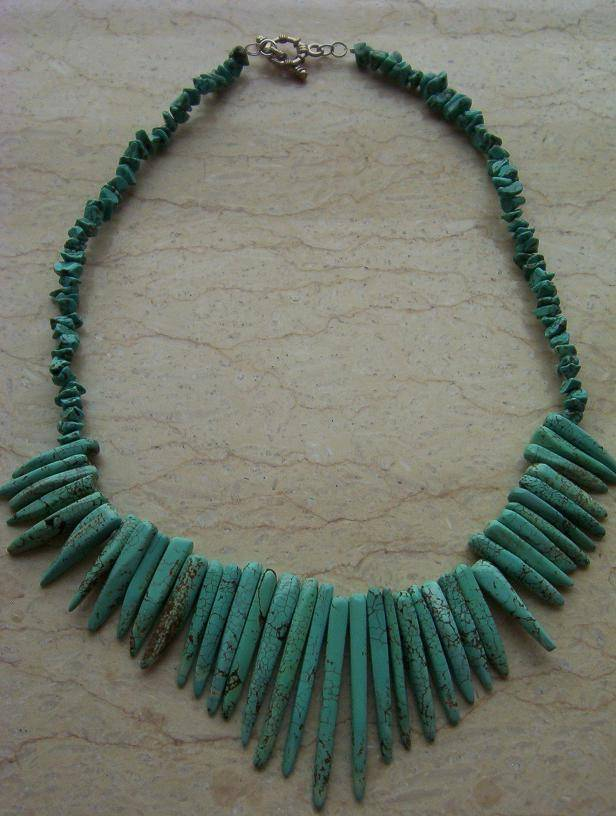 MU-024 Turquoise necklace
