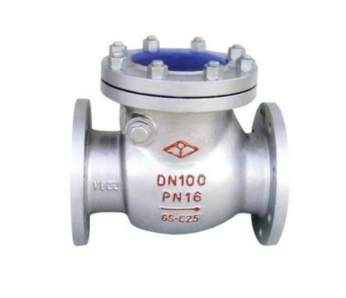 DIN Flanged Cast Steel Check Valve with CE