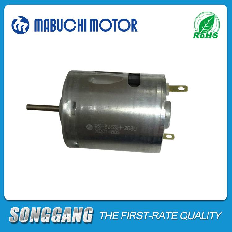 Hair Dryer/Vibrator Mabuchi 18V 19400RPM DC Motor RS-365SH-2080