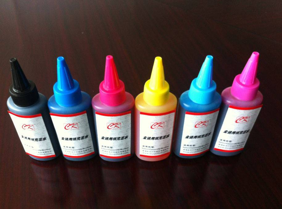 100ml/bottle ciss ink compatible ink for epson, canon, brother, hp