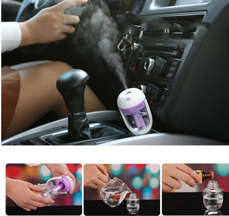 Factory Wholesale Fashion 50ml Aroma Korean Humidifier for Car