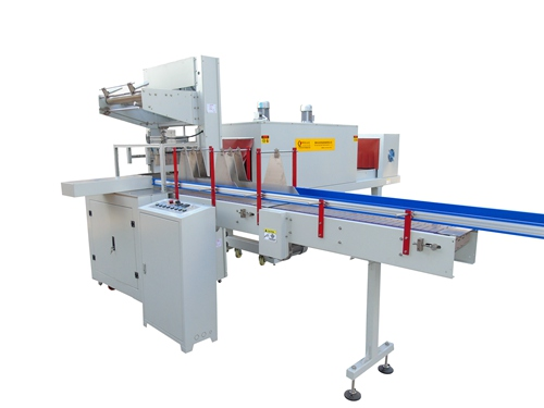 Upper and Lower Shrink Film Packing Machine LC-MB6535
