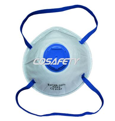Face mask with exhalation valve