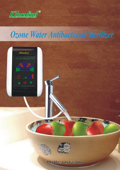 Water ozone generator for wash fruit or vegetables