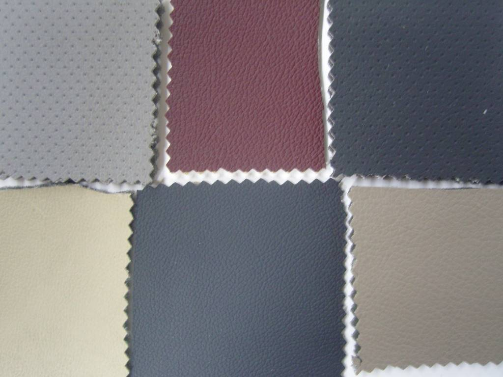 Stocklot of PVC Leather with Foam Back