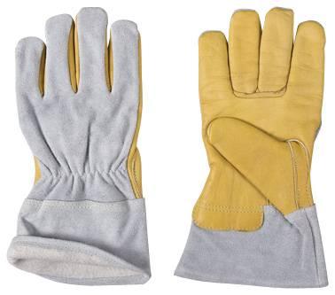 Cow grain leather gloves/welder's gloves/working gloves