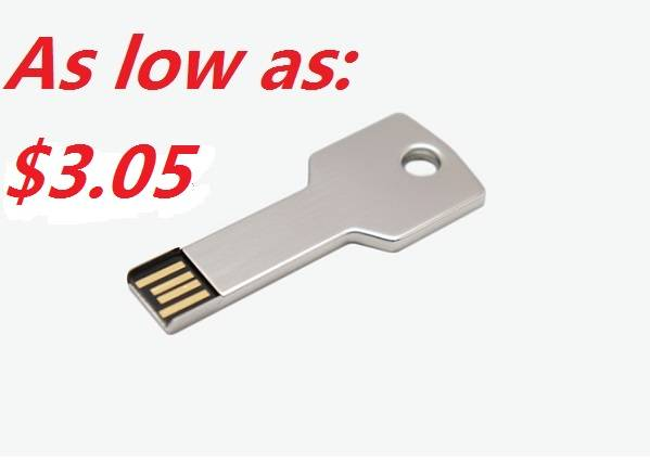 Promotional Gift Cheap Metal USB Flash Drive 1GB-64GB