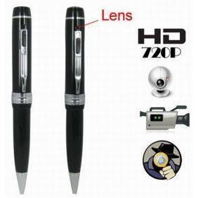 1280 x 720P HD hidden Camera Pen + Video + Audio + Webcam