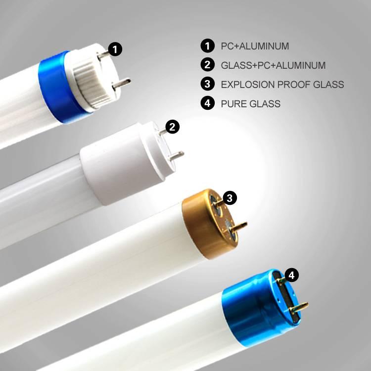 led tube light t8 6ft t8 led fluorescent tube