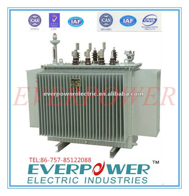 Three Phase Hermetically sealed Distribution Transformer