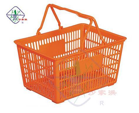 plastic shopping basket/shopping basket/basket