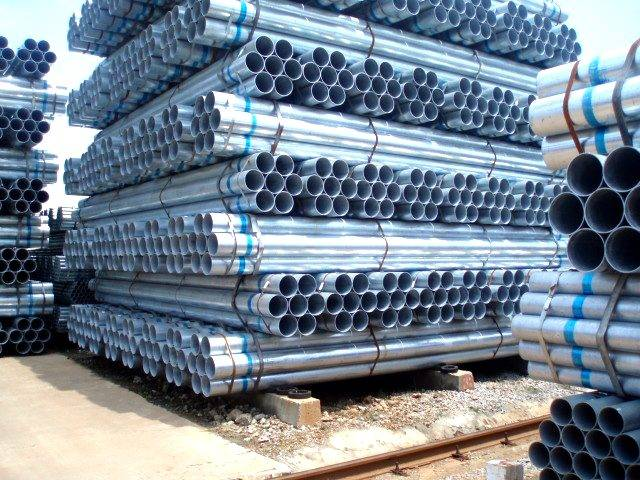prices of galvanized steel pipe